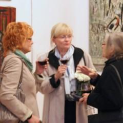 Pałac Sztuki TPSP w Krakowie - wystawa malarstwa Eugeniusza Gerlacha