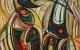 Tukany 2005 (2005) olej, płótno, 64,5 x 53,5 cm
