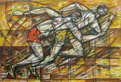 Start (2008), 100 x 150 cm