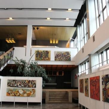 Nowohuckie Centrum Kultury – Galeria Centrum NCK Kraków – wystawa malarstwa Eugeniusza Gerlacha
