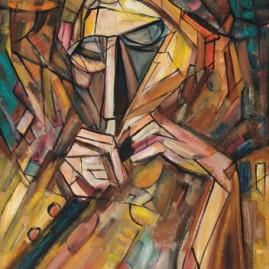 Ślepiec grający na fujarce, 1992