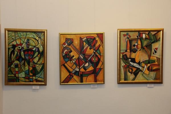 ZPAP Gdańsk - Eugeniusz Gerlach -wystawa malarstwa LINIA I KOLOR