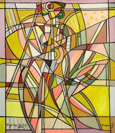 Akt 2011/5/1, 2011 olej, płótno, 115 x 100 cm