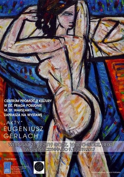 WarsawByArt 2019 Eugeniusz Gerlach AKTY